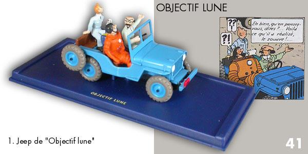 Voiture Tintin Car Atlas N 176 1 Willys Cj2a Ann 233 E 1946